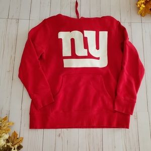 Pro Line NFL NY Giants Red Hoodie Beckham Jr #13